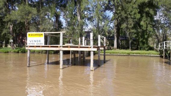 Lote En Venta Delta Tigre - Canal Arias - Lote Arias