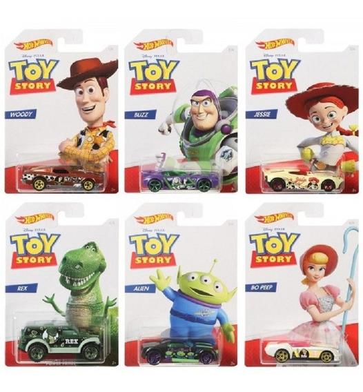 Hot Wheels Toy Story 4 Lote 6 Carros - Mattel Lacrado