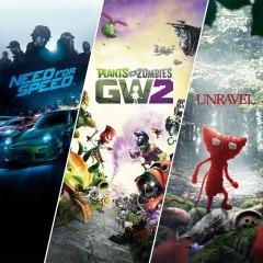 Codigo Para Xbox One Paquete Familiar De Ea 3 Juegos En 1
