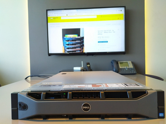 Servidor Dell R720 - 2x Twelve Core - 384gb Ram - Hd 600gb