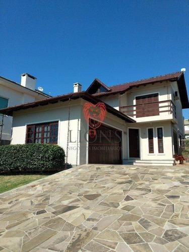 Casa Com 3 Dormitórios À Venda, 134 M² Por R$ 750.000,00 - Villa Lucchesi - Gravataí/rs - Ca0149