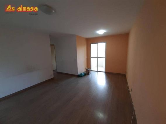 Apartamento Com 2 Dormitórios Para Alugar, 68 M² Por R$ 1.100/mês - Vila Galvão - Guarulhos/sp - Ap0510