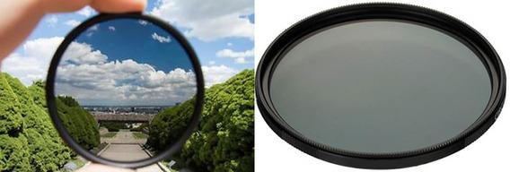 2 Filtros Para Canon Polarizador Circular Cpl + Filtro Uv