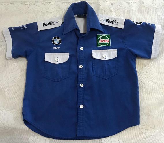 Camisa Fórmula 1 Bmw Original Niño