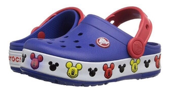 Crocs Kids Mickey Minie Original Luzes Led Frete Gratis