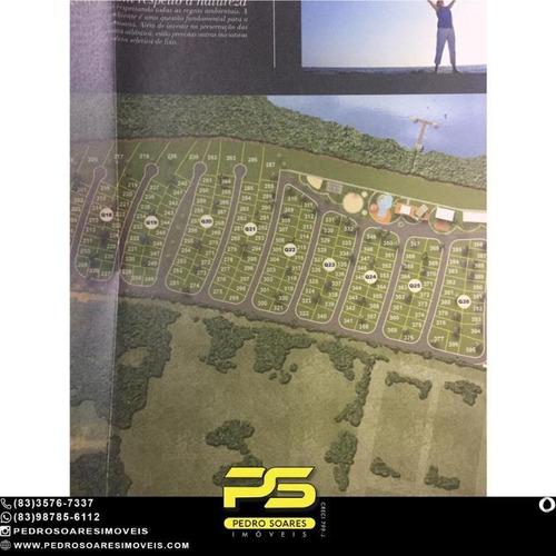 Terreno À Venda, 660 M² Por R$ 320.000 - Loteamento Bela Vista - Cabedelo/pb - Te0298