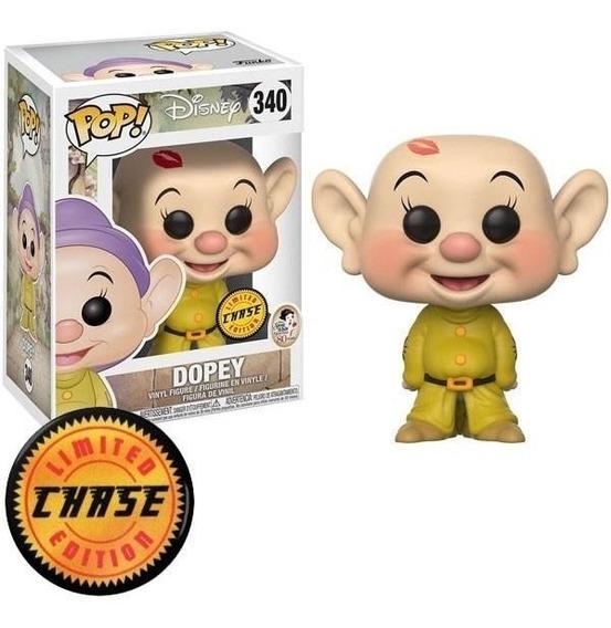 Funko Pop Disney - Dopey Chase #340 - Boneco Dunga