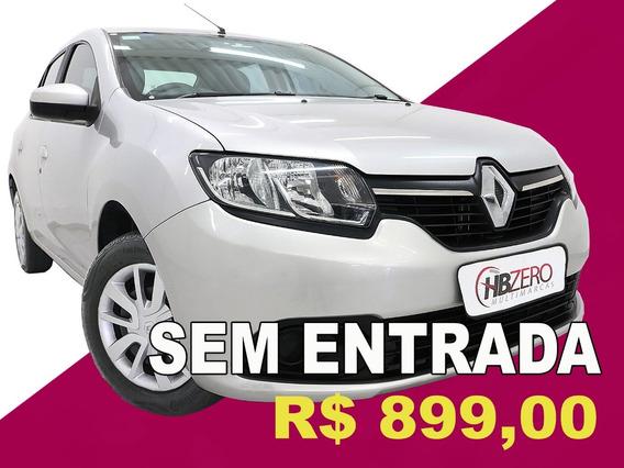 Renault Logan Authentique 1.0 12v Sce (flex) 2017
