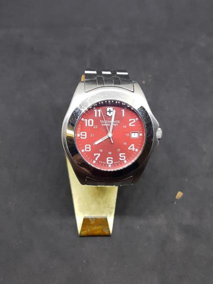 Reloj De Cuarzo Victorinox Extensible De Acero