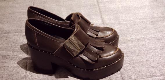 Jazmin Chebar Zapato Alto Talle 37 Sin Uso