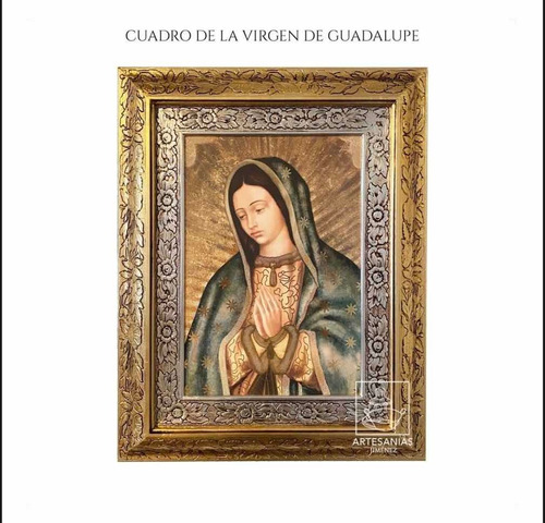 Imagen 1 de 1 de Cuadro Virgen De Guadalupe 45x40 A0949