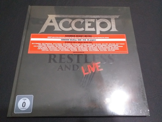 Accept: Restless And Live -earbook. ( Helloween )