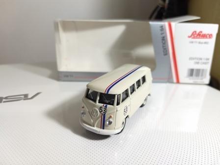 Vw Kombi Herbie N53 Schuco Escala 1/64