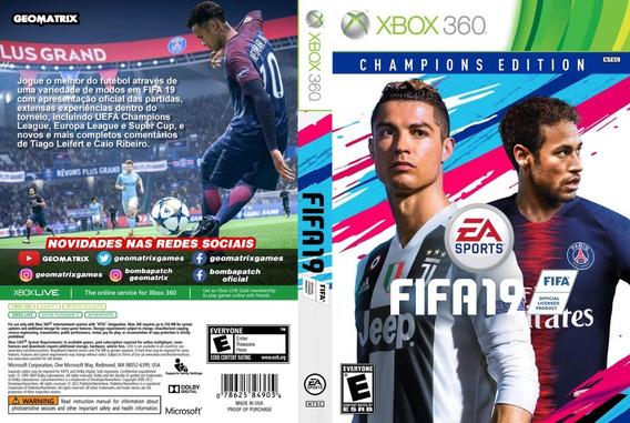 Fifa 19 Original -- Português Mídia Digital Xbox 360