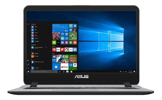 Notebook Asus Core I7 4gb Ram + 16gb Optane 1tb Win 10 14