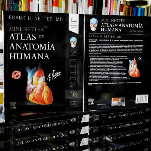 Mini- Netter- Atlas De Anatomía Humana 7° Ed. Nuevo/original