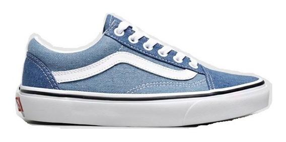 Tenis Vans Old Skool Azul Two Tones Denin Jeans