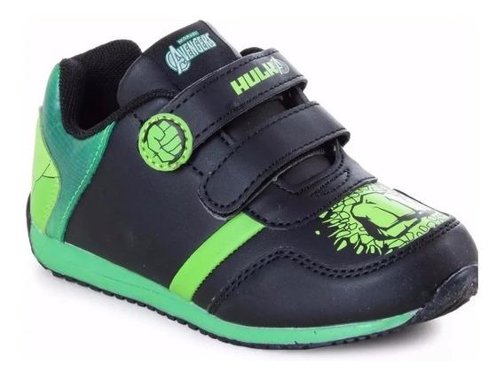 Zapatillas Hulk Marvel Avengers Originales Fty Calzados