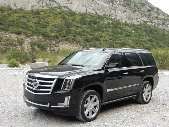 Blindada 2015 Cadillac Escalade Negra Nivel 4 Plus Blindados
