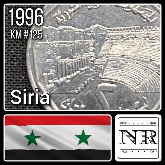 Siria - 2 Liras - Año 1996 - Km #125 - Ruina Teatro