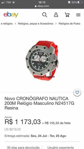 Relógio Nautica 200m N24517