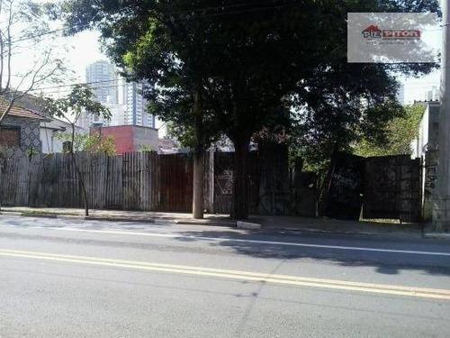 Imagem 1 de 11 de Terreno Residencial À Venda, Vila Regente Feijó, São Paulo - Te0088. - Te0088