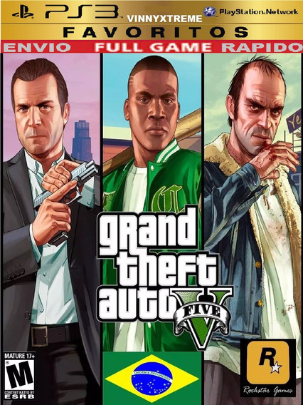 Grand Theft Auto V Gta 5 V Ps3 Disney Infantil Carros