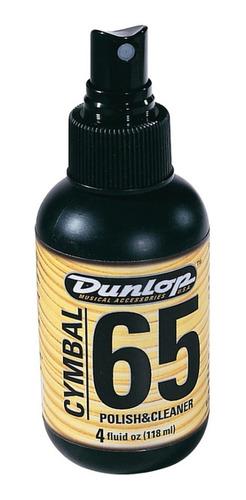 Limpador Spray Para Pratos De Bateria Dunlop F65 Usa
