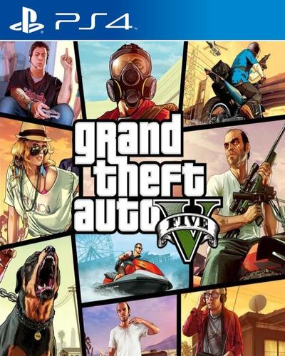 Imagen 1 de 10 de Gta 5 Ps4 Grand Theft Auto V Sub Español Udo