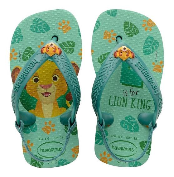 Ojotas Havaianas Bebes New Baby Disney Lion King