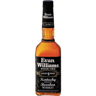 Dia Del Amigo Whiskey Evan Williams Bourbon Black Whisky