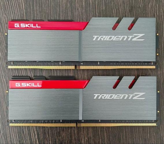 Memória G.skill Tridentz Ddr4 32gb 2 X 16gb 3200mhz Cl16