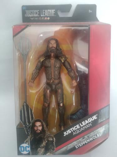 Aquaman Dc Multiverse Baf Steppenwolf Liga De La Justicia