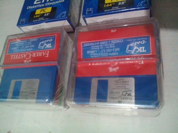 Disquete 1.44 Mb 3.5 Maxell Faber Castell Novo