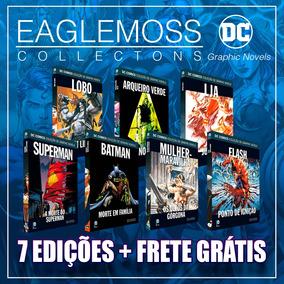 Kit Graphic Novel - 7 Eaglemoss Dc - Promoção Frete Grátis