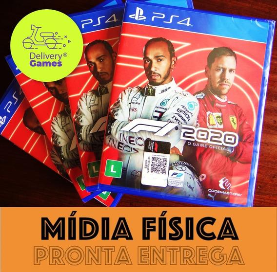 F1 2020 Fórmula 1 Ps4 Mídia Física Lacrado Com Nota Fiscal
