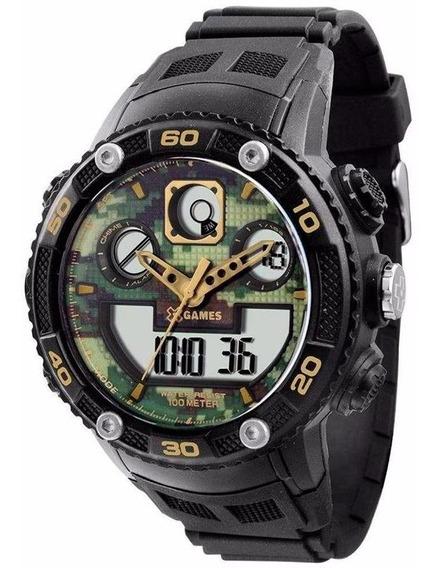 Relógio X-games Anadigi Masculino Sport Xmppa181 Bxpx