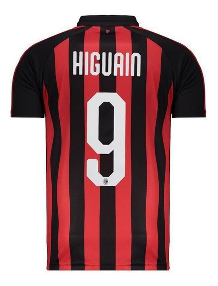 Camisa Puma Milan Home 2019 9 Higuain