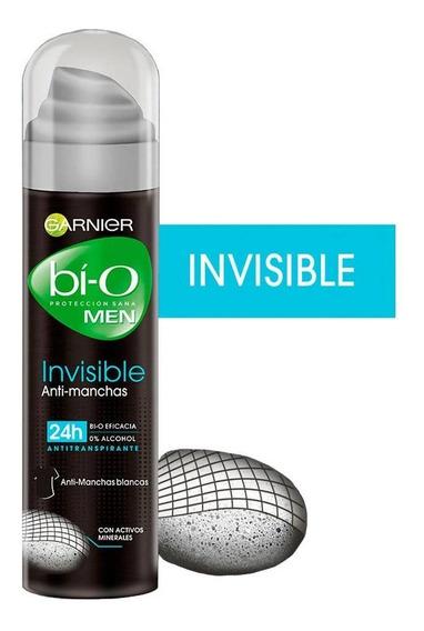Desodorante Bi-o Invisible Anti-manchas Spray Hombre Garnier