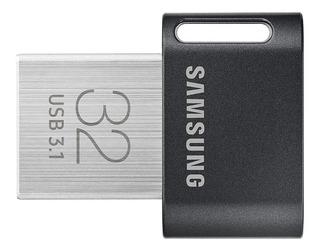 Memoria Usb 32 Gb Samsung Fit-plus 3.1 4k Uhd 300 Mb/s