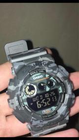 Relógio Casio G-shock Camuflado Original (usado)