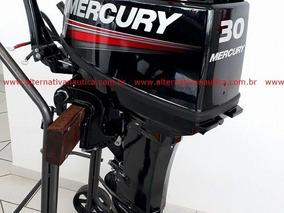 Motor De Popa 30 Hp Mercury (partida Elétrica De Fabrica)