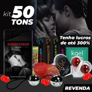 Kit Sexshop 25un Bolinha Pompoar Erotico Produtos Atacado