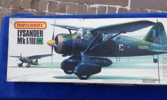 Westland Lysander Pk-504, Escala 1/32, Matchbox