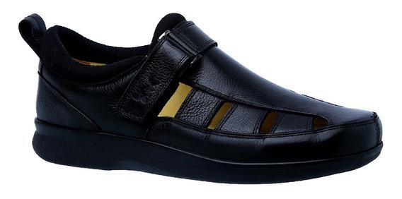 Sapato Diabético Doctor Shoes 3059 Preto