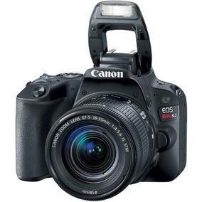 Canon Sl2 + Ef-s 18-55mm F / 4-5.6 Is Stm - Garantia E Nf