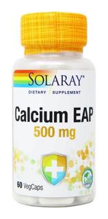 2 Unidades Calcium 2 Eap Solaray 60 Cap 500mg