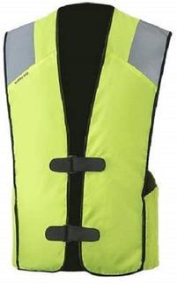 Chaleco Con Bolsas Aire Moto Airbag Talla S-m