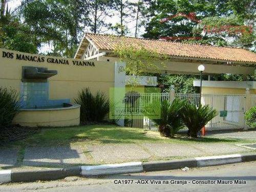 Casa Charmosa Com Excelente Acabamento Na Granja Viana - Ca1977