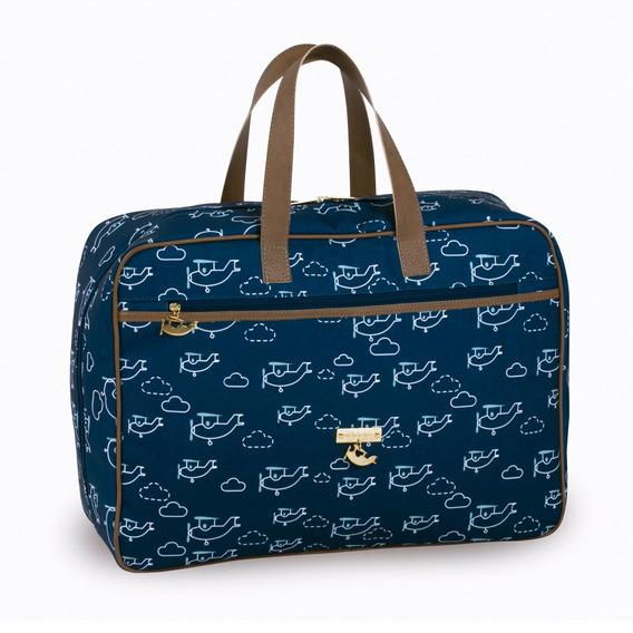 Mala De Viagem Mia - 49x37x18 Cm - Coleção Avião - Masterbag